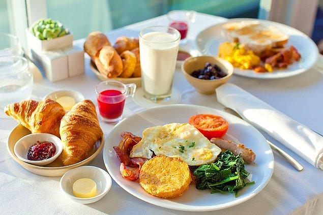 12. Kahvaltı etmeyi sürekli ihmal eder misin?