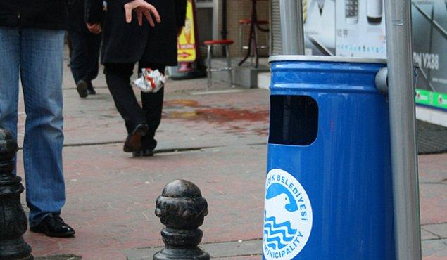 7. Yere çöp atıyor musun?