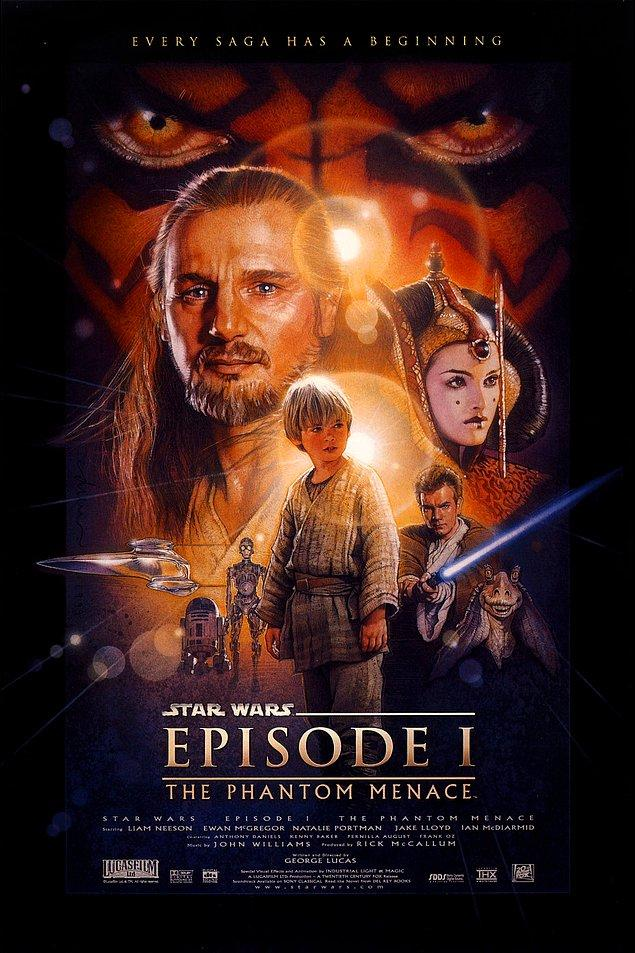 1. Star Wars Bölüm 1: Gizli Tehlike