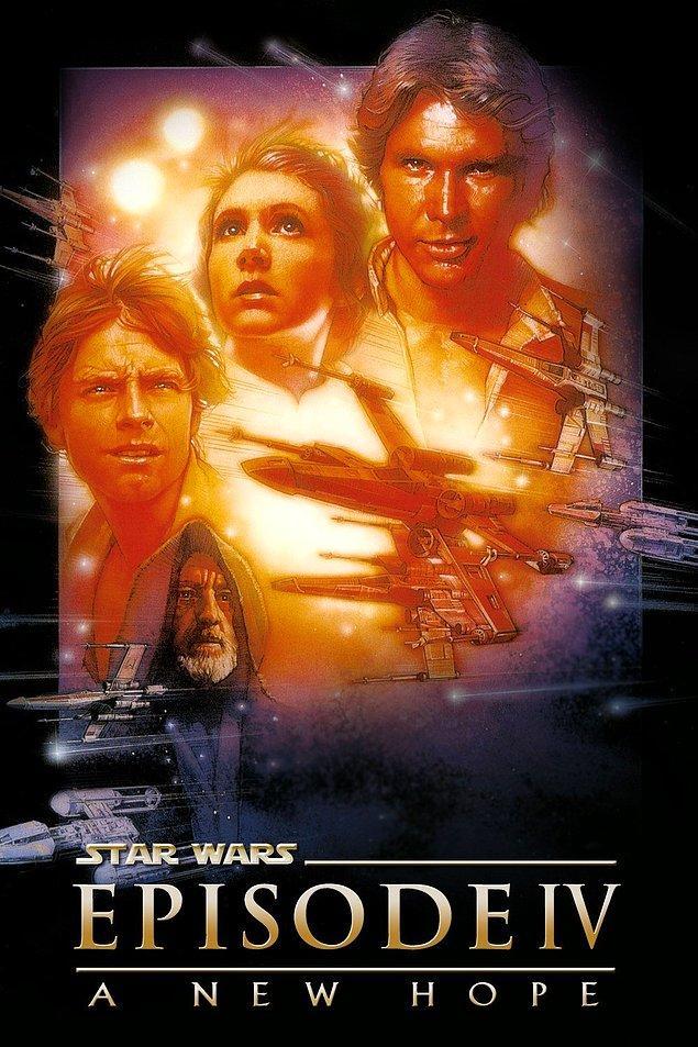 8. Star Wars Bölüm 4: Yeni Bir Umut