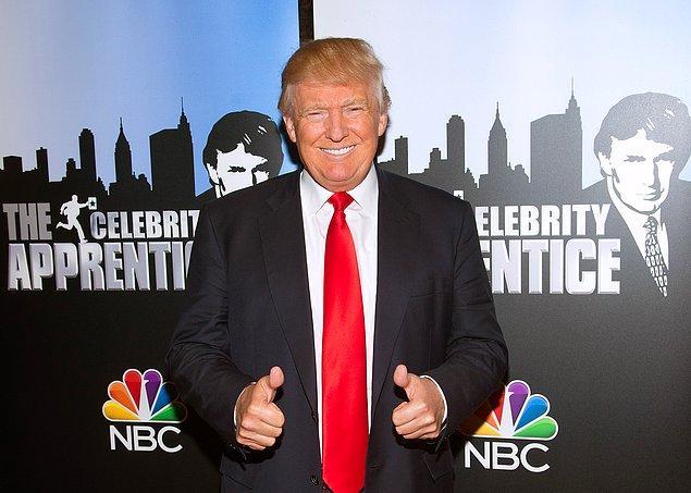 9. The Apprentice programı olmasaydı, Trump kendini Orta Amerika'ya asla bu kadar çok tanıtamazdı, hatta başkanlığı kazanamazdı. Ekran karşısındaki rahatlığı ve rol yapma yeteneği sayesinde şu an da medyanın kadrajından düşmüyor.