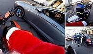 Yayaya Çarpıp Kaçan Şoförü Filmleri Aratmayan Kovalamaca Sonucunda Yakalayan Motorcu