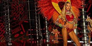 Candice Swanepoel Bu Yılın Victoria's Secret Defilesinde Karnında İkinci Bebeğiyle Yürüdü!