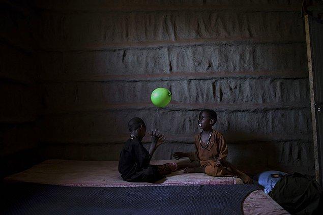 9. Somali'de çocukların oyunu. 📷 Arif Hüdaverdi Yaman