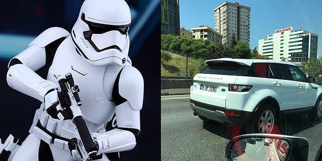 9. Stormtrooper - Range Rover