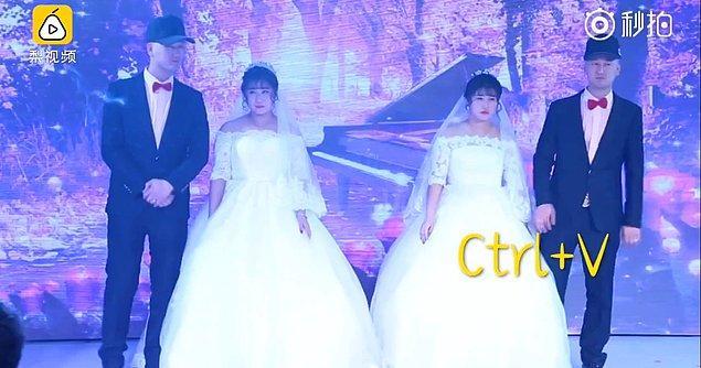 Zheng Dashuang ve Zheng Xiaoshuang kardeşler, Liang Jing ve Liang Qing ile evlendiler.