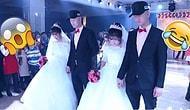 Ömürlük Risk Aldılar: Çin'de İkiz Erkek Kardeşler, İkiz Kız Kardeşlerle Evlendiler!