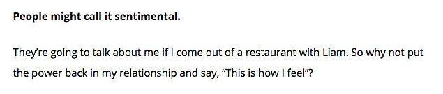 10. Billboard'a şarkısında ilişkisi hakkında neden bu kadar açık olduğunu da açıkladı:
