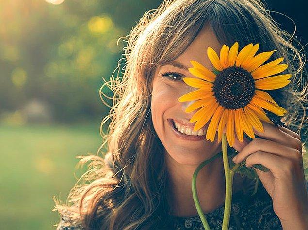 Dışarıdan Pozitif Bir Görünüşün Var!