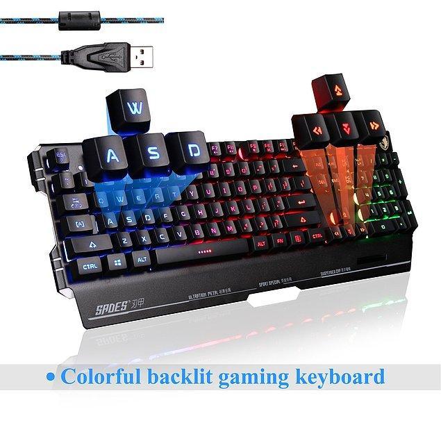 6. Her Gamerın ihtiyacı Profesyonel oyun klavyesi
