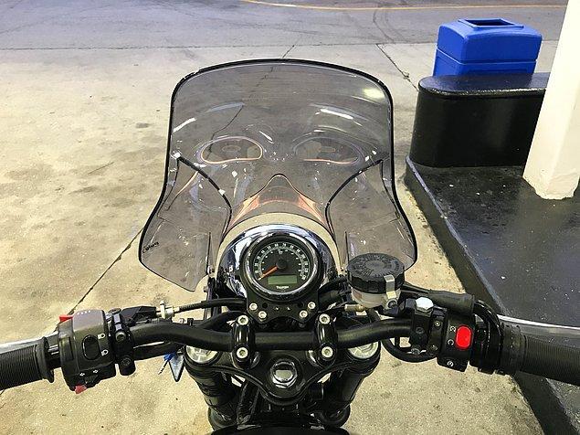 1. Darth Vader'a kendinden çok benzeyen motorsiklet