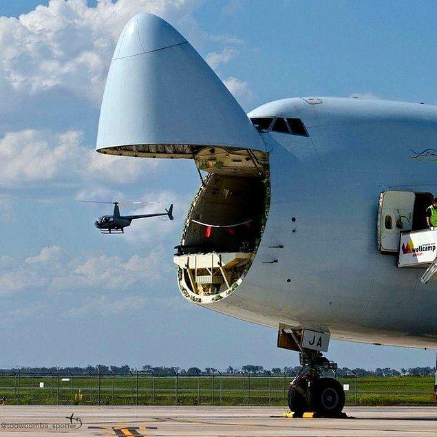 """3. """"Ham"""" yapmak üzere olan uçak"""