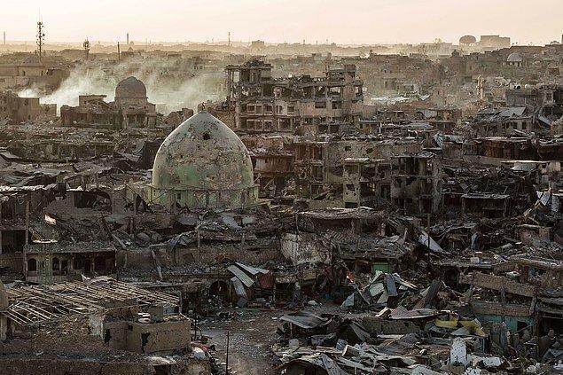 7. IŞİD'den kurtarılan Musul, Irak, 14 Temmuz.