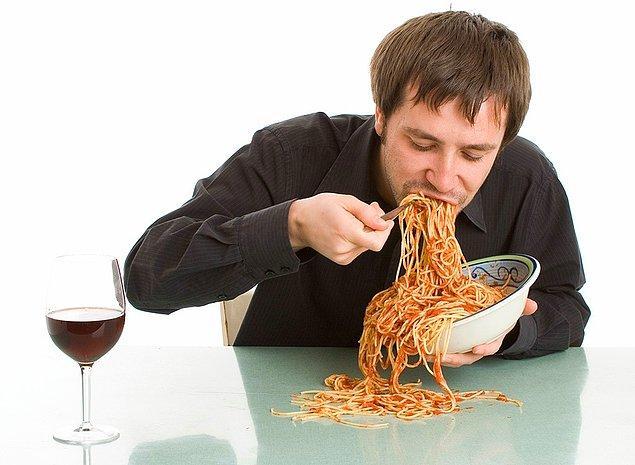 9. Yemeği nasıl yersin?