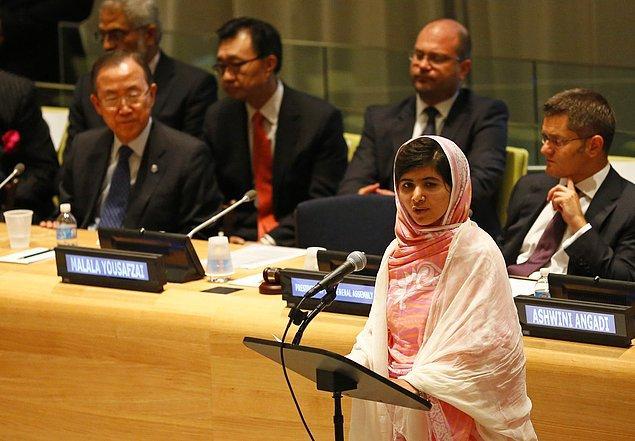 Malala'nın hikayesi tabii ki burada bitmedi… Vurulması onu daha da perçinledi ve çalışmalarına hız kesmeden devam etti.