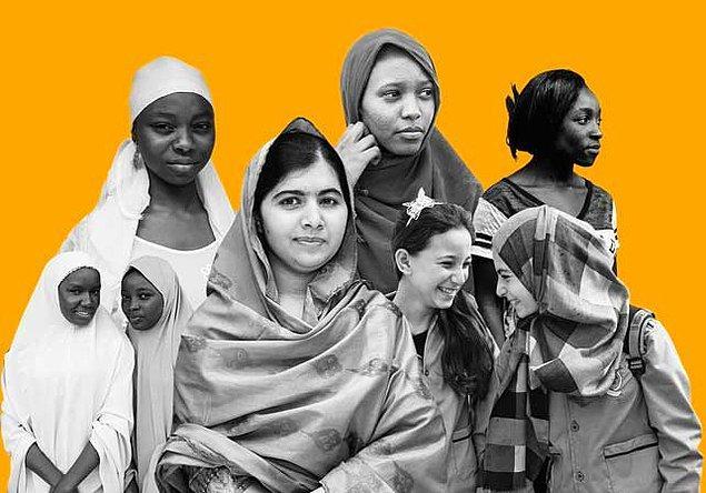 Malala, terörün acımasız baskısı altında olmasına rağmen vazgeçmedi ve kız çocuğu okumaz, eğitim almaz, düşünmez, sesi çıkmaz gibi genellemelerin hepsini reddetti.