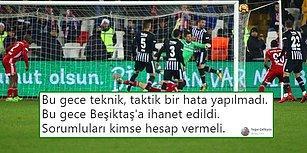 Kartal Ağır Yaralı! Sivasspor - Beşiktaş Maçının Ardından Yaşananlar ve Tepkiler