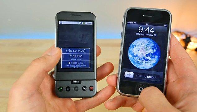 İşlemcide de Android öndeydi.