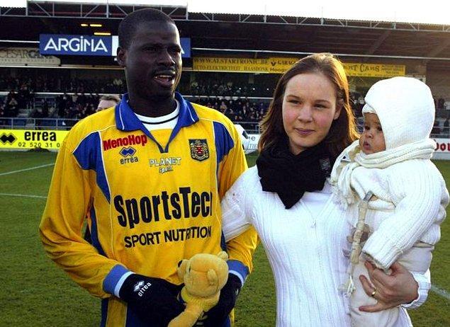 Eboue futbol hayatına Mimosas takımının alt yapısında başladı. 2002 yılında KSK Beveren'e transfer oldu ve 3 sezon forma giydi.