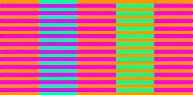 2. Bu görselde kaç farklı renk görüyorsun?