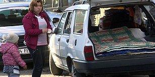 Araba Bagajında Yaşam Mücadelesi: Üç Çocuklu Annenin Tek Dileği Sıcak Bir Yuva