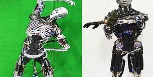 Japon Bilim İnsanlarından Sportif Robot: Şınav Çekip, Terliyor!