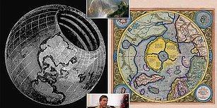Düz Dünya Görüşünü Saçma Bulup Kendi Tuhaf Teorisiyle Şaşırtan Bir Grup İnsan: İçi Boş Dünyacılar!