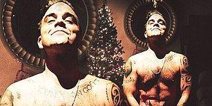 Robbie Williams'tan 'Bacadan Noel Baba Değil de Sen İnsen Keşke' Dedirten Çıplak Yılbaşı Pozu