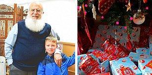 Küçük Bir Çocuk Onu Noel Baba Sanınca 4 Yıl Boyunca Hediyeler Getiren Koca Yürekli Müslüman Dede
