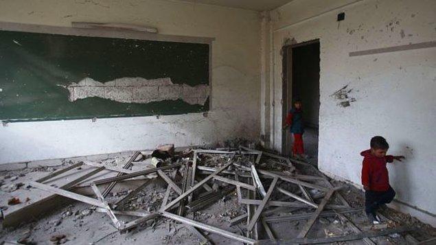 Çatışma bölgelerinde yaşayan yaklaşık 27 milyon çocuğun okula erişimi engelleniyor.