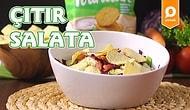 Salatanın Lezzetine Fırından Bir Sürpriz Ekledik: Çıtır Salata Nasıl Yapılır?