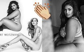 Güzelliğin Biçimi Olmaz! Gigi Hadid'in Çıplak Pozunu Canlandıran Büyük Beden Model: Diana Sirokai