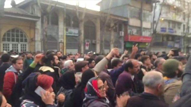 5. ABD İran'daki gösterilere ne tepki verdi?