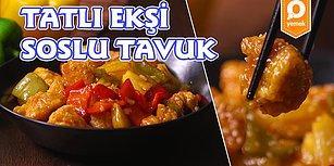 Uzak Doğu Mutfağının En Leziz Tarifi Tatlı Ekşi Soslu Tavuk Nasıl Yapılır?