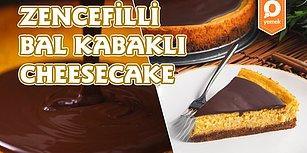 2018'e En Tatlı Başlangıç: Zencefilli Bal Kabaklı Cheesecake Nasıl Yapılır?