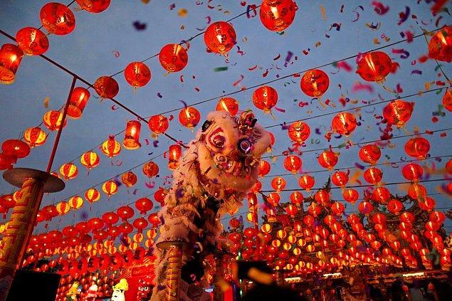 Çin yeni yılına 16 Şubat'ta gireceğiz.
