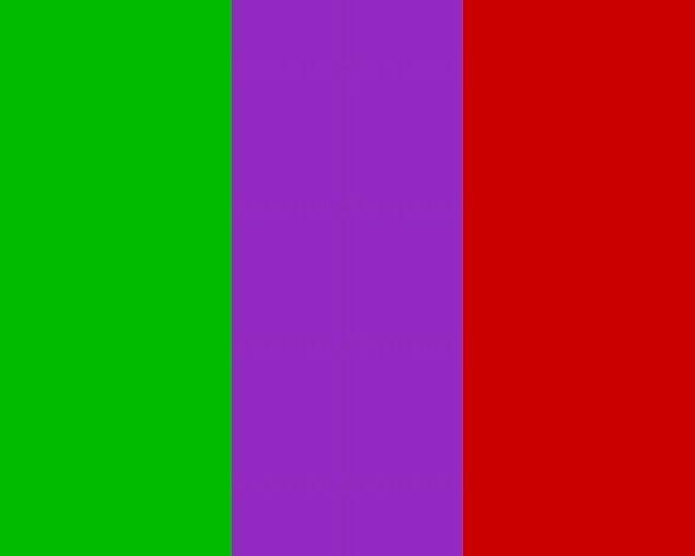 Şanslı renkler de bu kültürün önemli bir parçası.