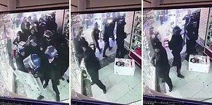 Operasyon Yaptıkları Dükkanda Cep Telefonlarını Ceplerine İndiren Polisler