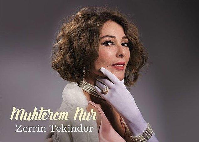 Müslüm Baba'nın büyük bir aşkla sevdiği eşi Muhterem Nur'u ise Zerrin Tekindor canlandırıyor.