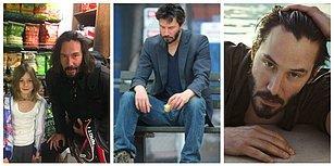 Her Fotoğrafına Uzun Uzun Baktıran, Adamlığın ve İyiliğin Kitabını Yazan Gönlümüzün Efendisi Keanu Reeves