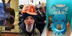 Dünya Düz Olsa Ucundan Sarkacak İlk Vatandaşların Ruslar Olacağının Kanıtı 36 Tuhaf Fotoğraf