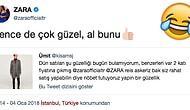 Zara'da Beğendiği Montu Bulamayan Genç, Yanlışlıkla Şarkıcı Zara'ya Tweet Atarak Ortalığı Karıştırdı!
