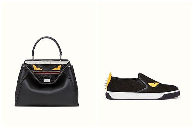 Kerimcan'ın çantası ve sneakersı Fendi, şalı ise Alexander Mcqueen.