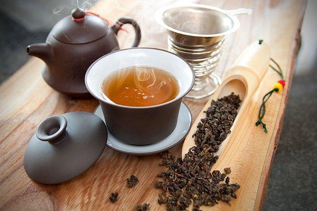 7. Oolong çayı