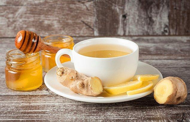 14. Zencefil çayı