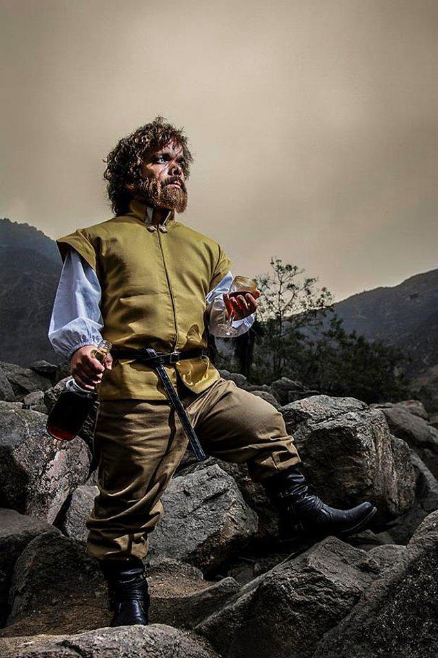 8. Çok başarılı bir Tyrion Lannister!