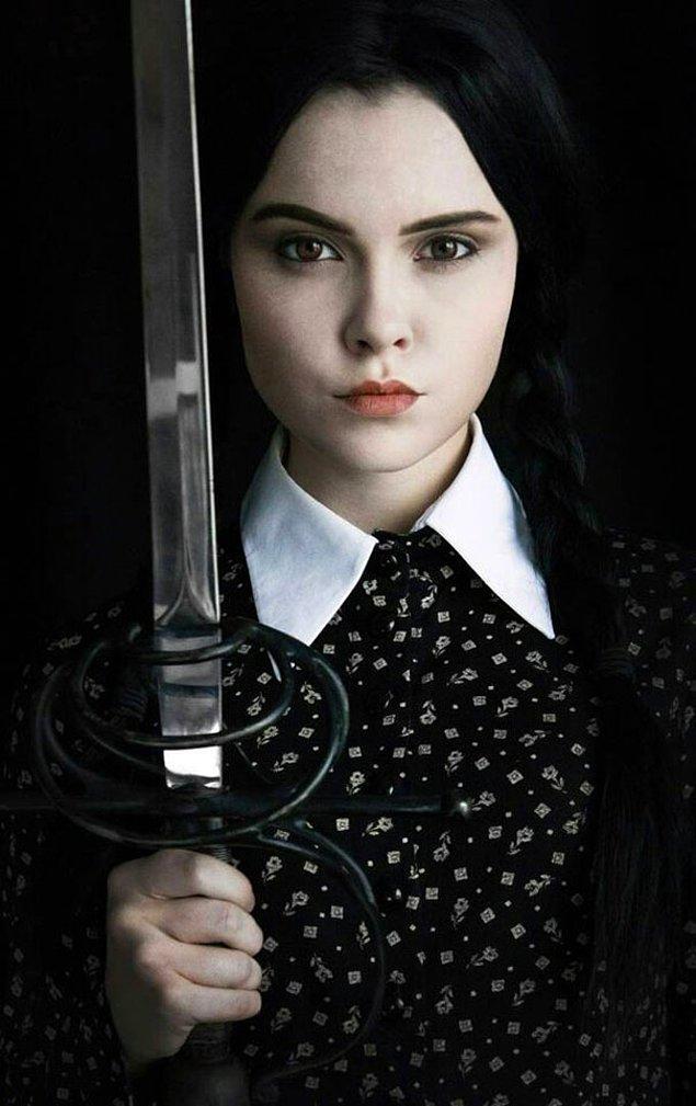 23. Wednesday Addams