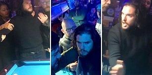 Olay Çıkartan Kit Harington'u Bardan Kovdular