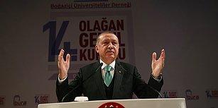 Erdoğan'dan Boğaziçi Üniversitesi Eleştirisi: 'Yerli ve Milli Değerlere Yaslanmadığı İçin Beklediği Yere Gelemedi'