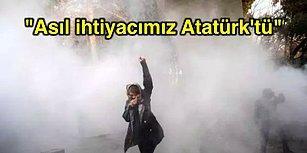 """İranlı Gençler Haykırıyor: """"Asıl İhtiyacımız Atatürk'tü"""""""